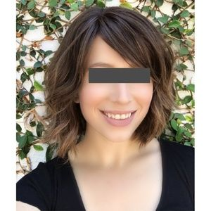 Accessories - Short Curly Brown Wig
